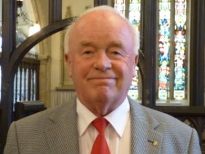 Stephen Dugdale, Church Warden