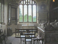Internal view of the Shireburn Chapel