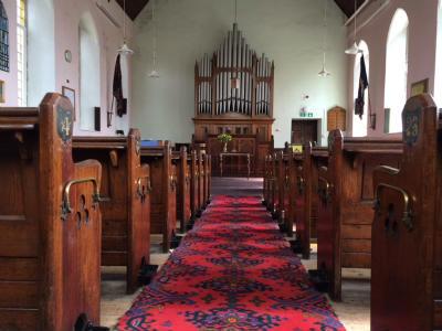 Church interior May 2014