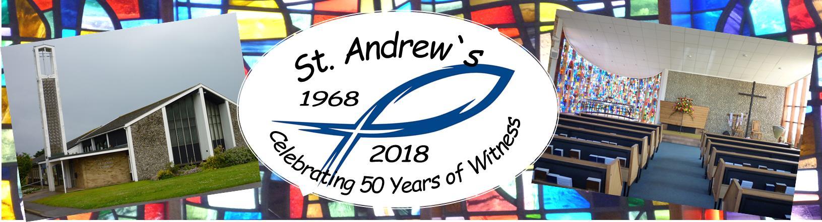 St. Andrews Anniversary header