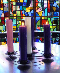 Advent Candles 2