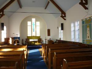 Church - West Runton Chapel inside