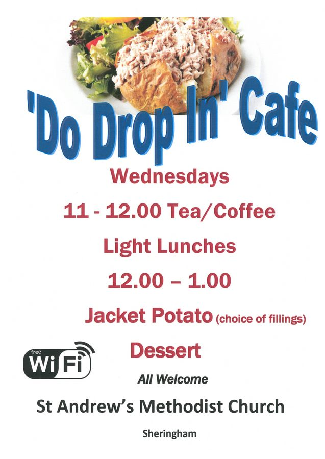 Do Drop In - Cmmunity Cafe - StA