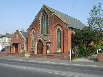 North Walsham Church south