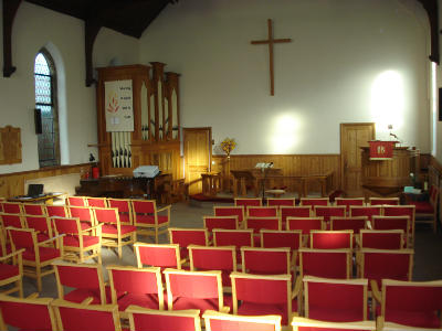 Inside the Worship Area