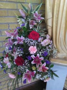 Wonderful flowers from a wedding