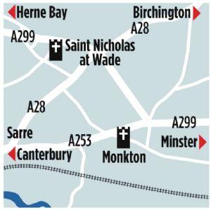 map St Nich