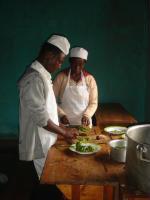 Acquiring catering skills
