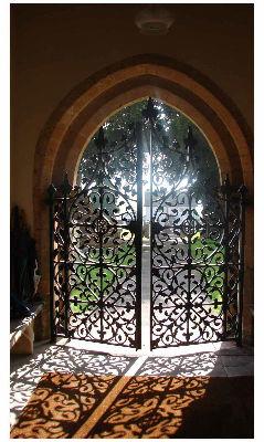 Church door Wraxall
