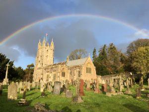 All Saints' with Rainbow