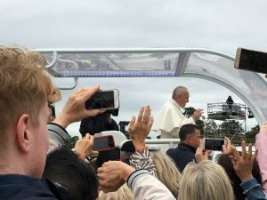 Pope Francis at Final Mass