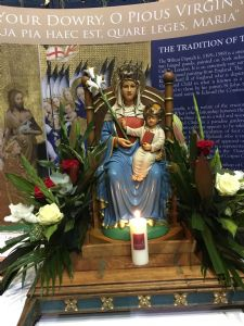Image of Our lady of Walsingham in Slipper Chapel