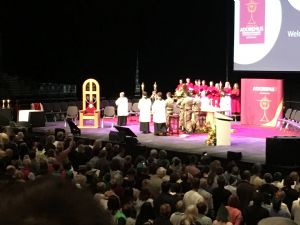 Adoration at the National Eucharistic Congress, Liverpool, 8th September 2018