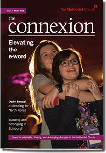 Cover of the first issue of The Connexion magazine
