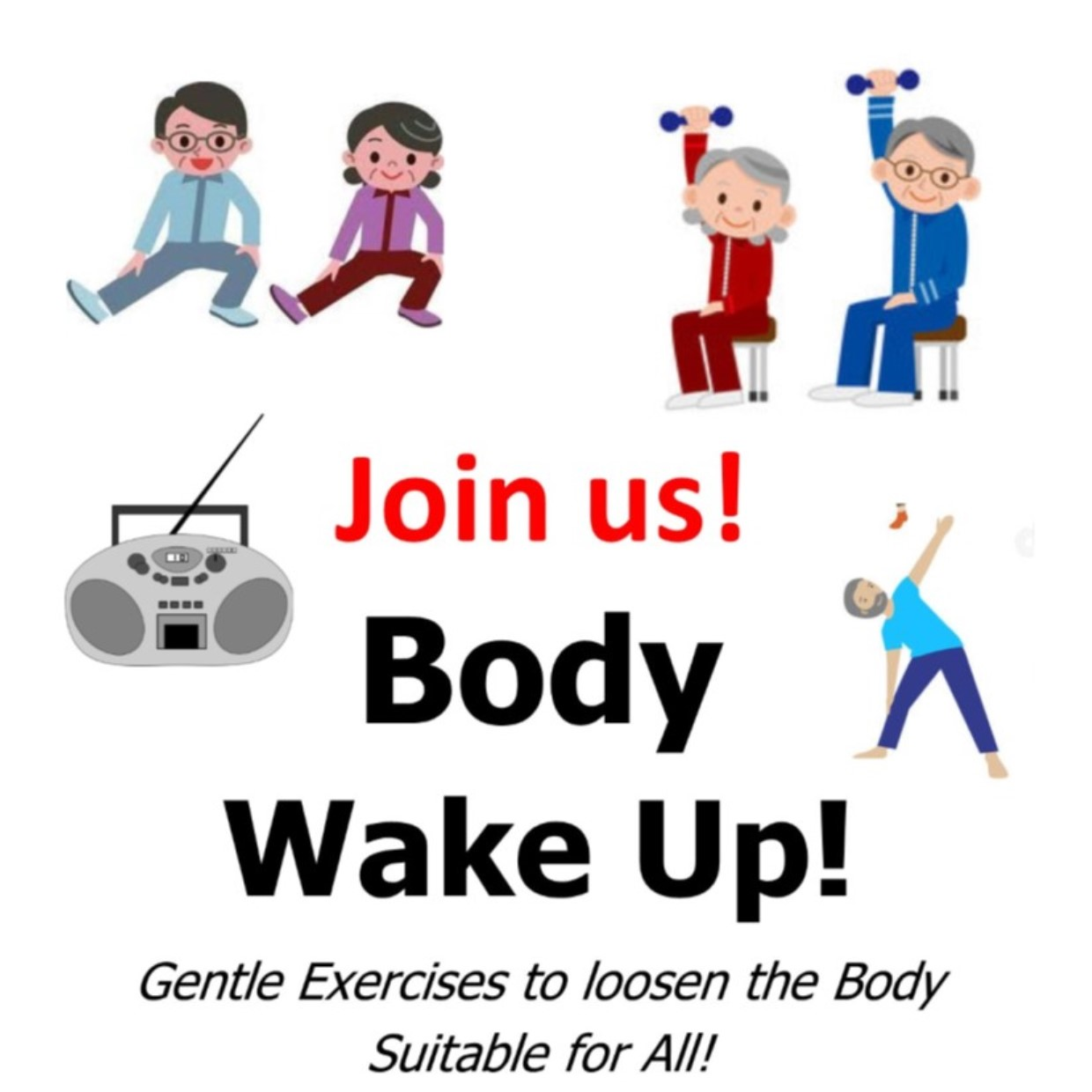 body wake up