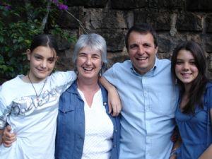 Colin  Anita, Sheila, Sandie Smith