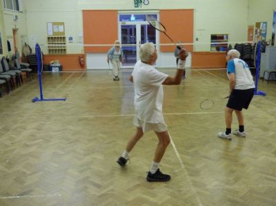 Sports night badminton