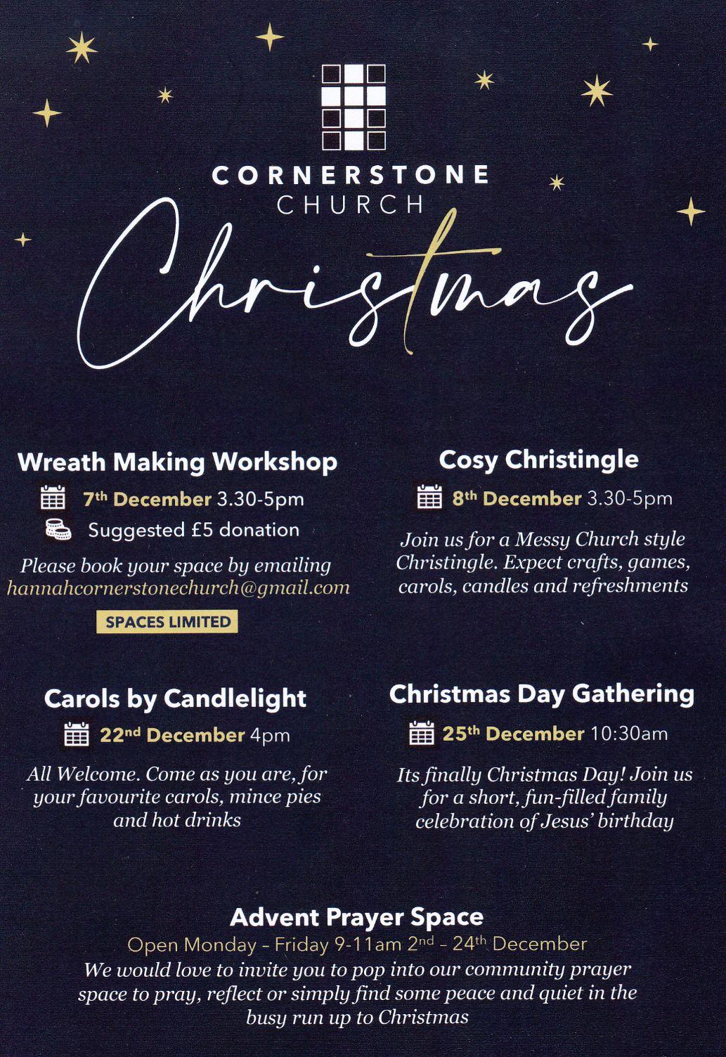 Christmas flyer image
