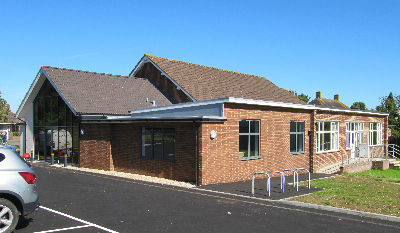 Cornerstone Church with extension