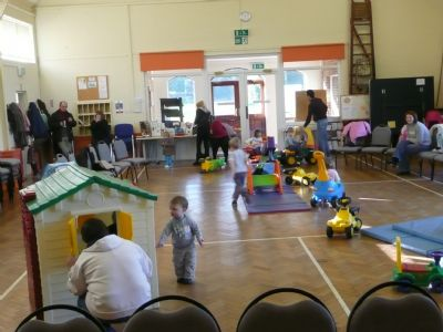 toddler large hall play