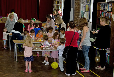 messy church large