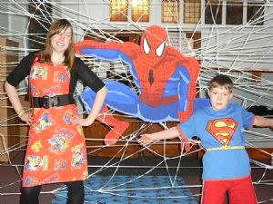 Jenny, Spiderman and Joseph