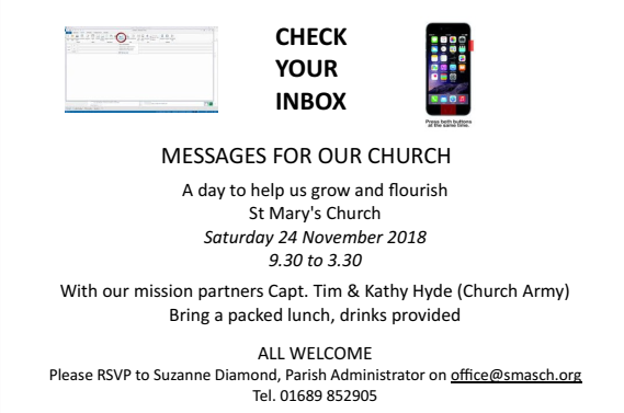 check your inbox event flyer 1