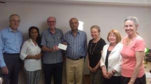 Oxtrad donation photo
