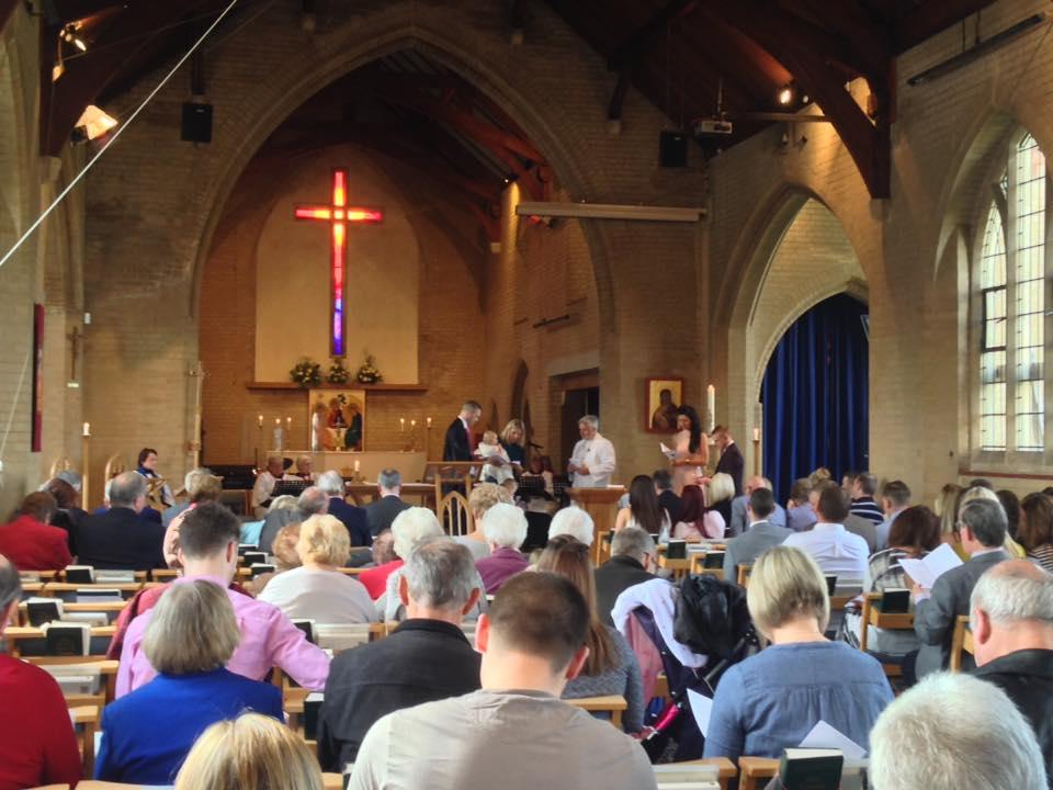 St Marys inside