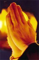 Praying Hands night