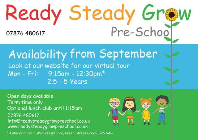 Preschool advert