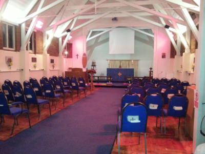 All Souls Church Inside