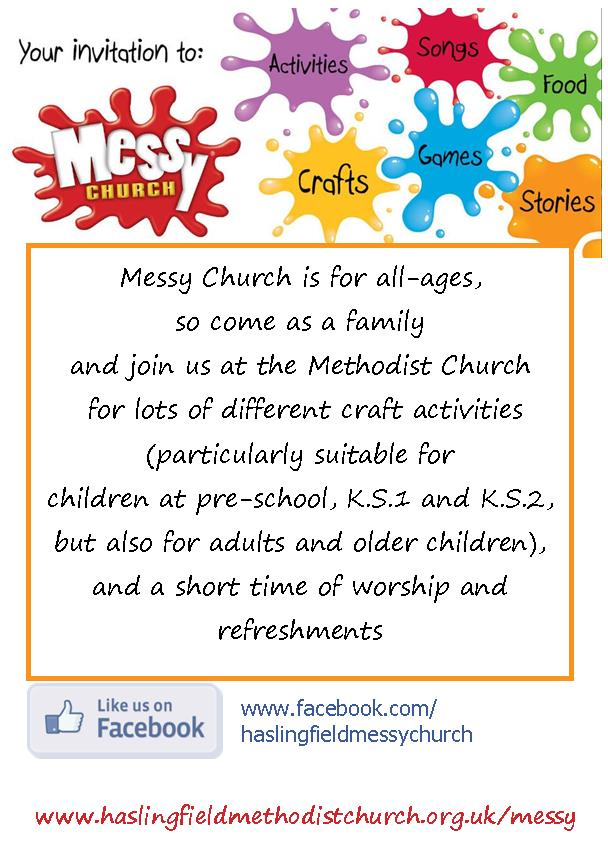 Messy church details