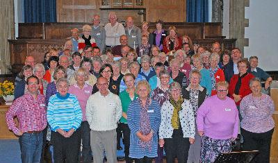 Singing OUR Faith Group photo 17-10-15
