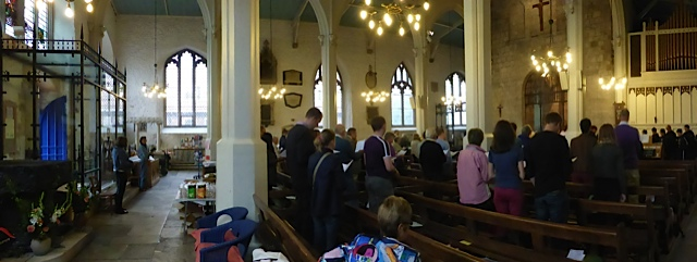 congregation at St Michael's