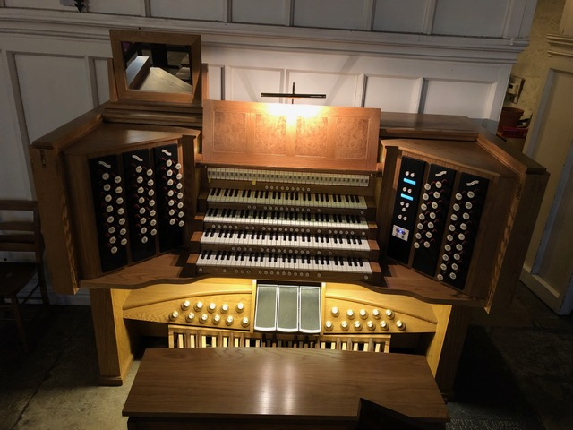 Organ at St Michaels