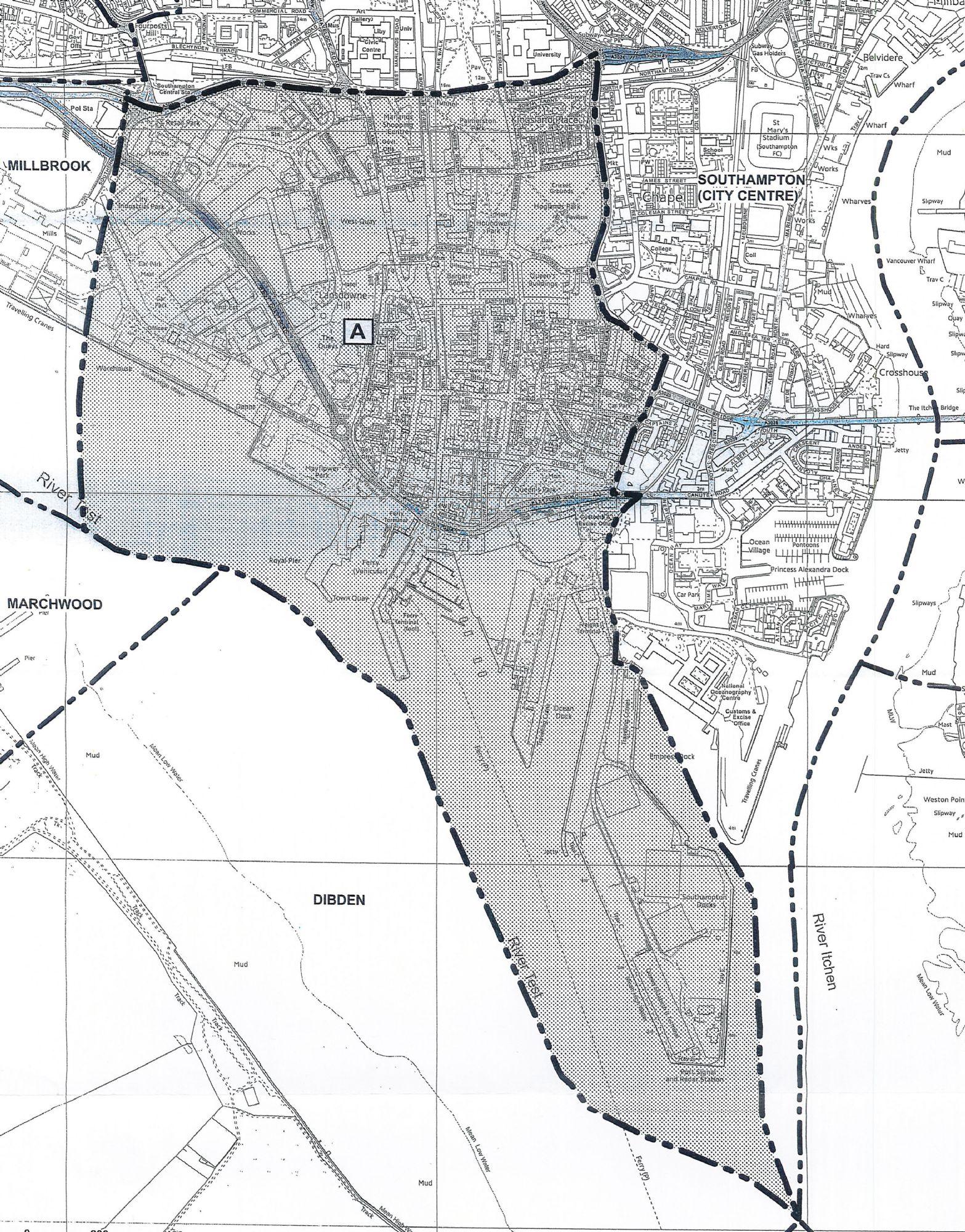 St Michael's Parish Boundary
