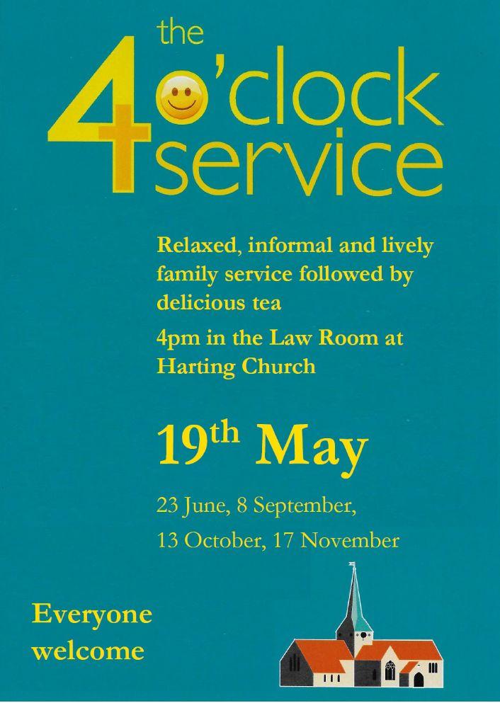 19th May 4 o clock service