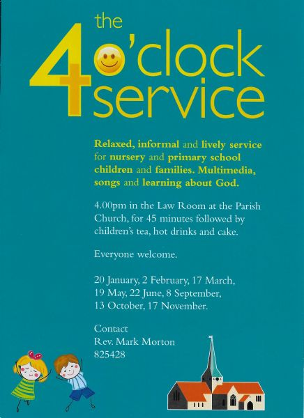 4 O'Clock Service Poster 2019