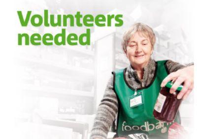 Foodbank volunteers