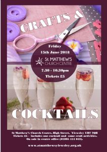 Summer Crafts & Cocktails