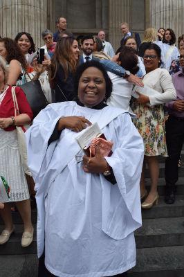 Vicky's ordination