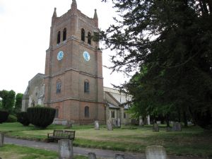All Saints Church, from NE