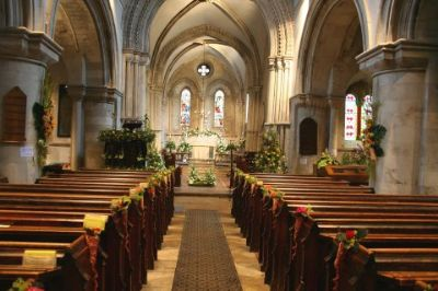 All Saints during the Flower Festival