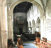 All Saints chancel looking west