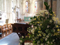 All Saints Flowers  Alter