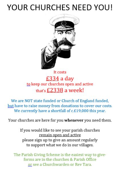 your churches need you
