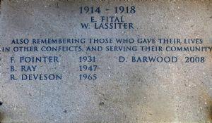 Ernest Fitall Memorial