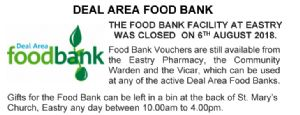 Deal Area Food Bank