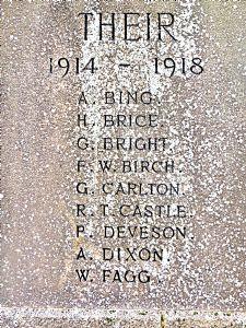 Alfred Dixon Nov 1st 1918